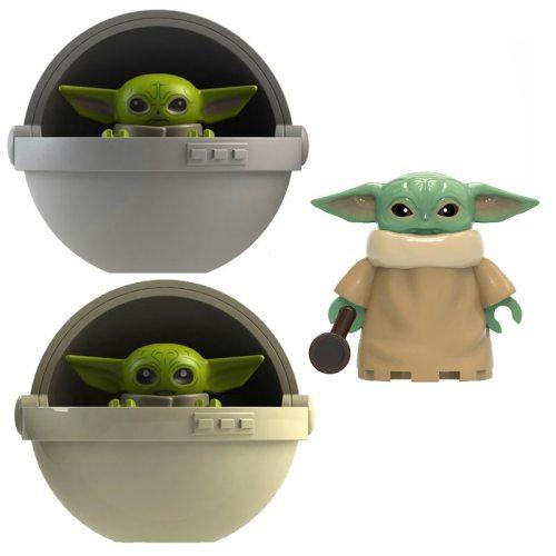 Star Wars Mandalorian Yodaed Vader Baby Grievous Battle Robot Model Building Block Toys Gift For Children Construction Technic