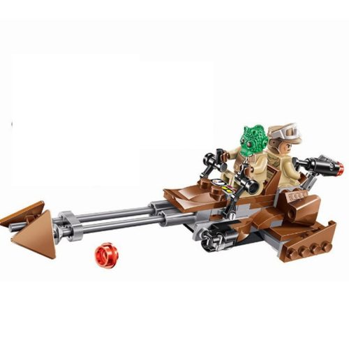10572 Star Wars Rebel Alliance Rebels Ezra's Speeder Bike Model Building Blocks Enlighten Action Figure Toys For Children