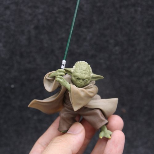 Star War Characters Master YODA with Sword Action Figure Toys