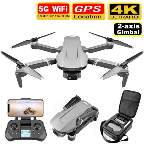 GPS Drone with 5G WiFi FPV 2-axis Gimbal 4K Dual Camera Profesional Brushless RC Quadcopter Dron Helicopter Toy VS SG906 Pro