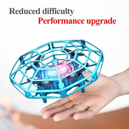 Mini Drone UFO Toys Infrared Sensing Control Hand Flying Aircraft Quadcopter Infraed RC Helicopter  Kid Toy