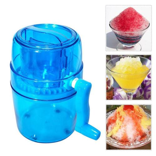 Manual Household Small Smoothie Machine Mini Shaved Ice Machine Ice Breaker Hand-crushed Ice Machine Kitchen Accessories