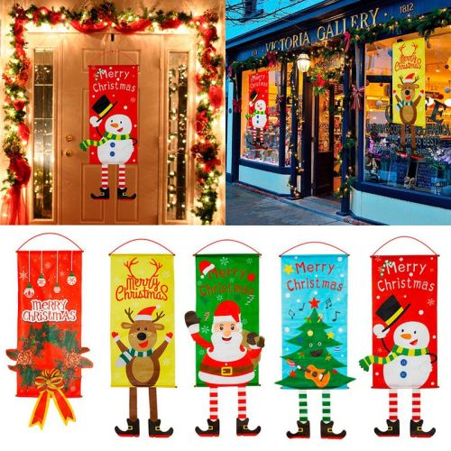 115x40cm Merry Christmas Decor for Home Noel 2020 Christma Garland Ornaments Xmas Happy New Year Decor 2021 Gift