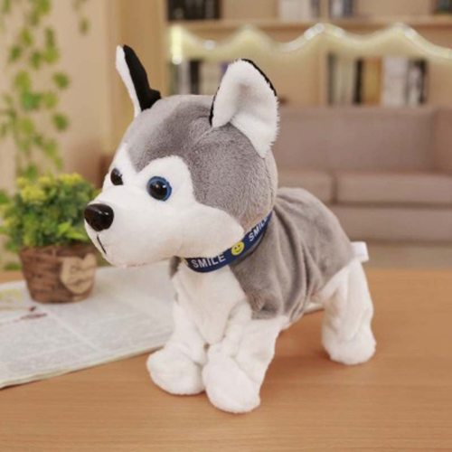 Kids Sound Control Electronic Dogs Interactive Electronic Pets Robot Dog Bark Stand Walk Electronic Toys for Children Dog Toys