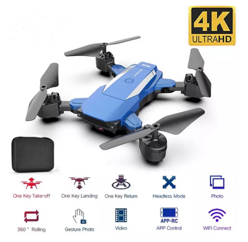 New Drone F84 WiFi Drone Long Battery Life RC Folding Quadcopter 4K HD Aerial Photography Remote Control Toys