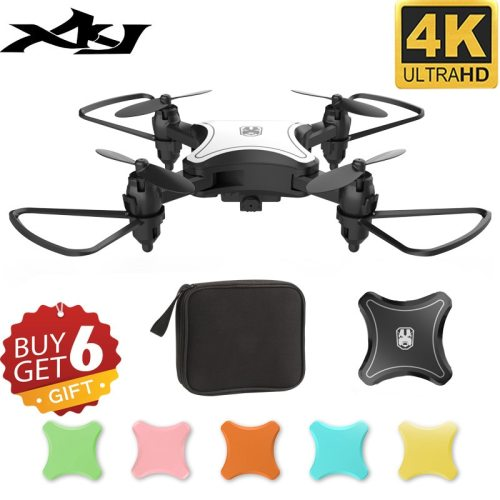 KY902 Mini Drone Quadcopter with 4K Camera HD Foldable Drones One-Key Return FPV Follow Me RC Helicopter Quadrocopter Toys