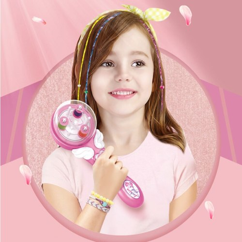Electric Automatic Hair Braider Stylish Braiding Hairstyle Tool Play House Makeup Girl's Diy Flexible Electric Tress Device Toys