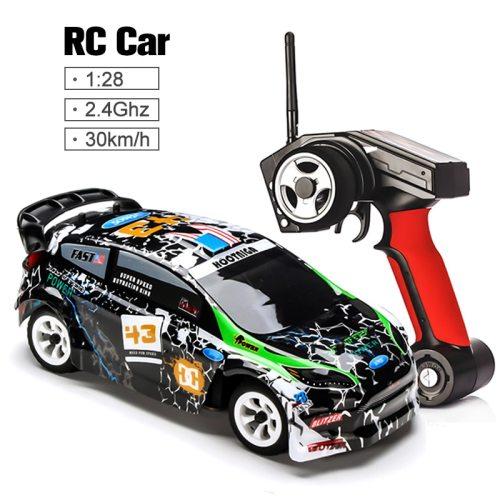 K989 1/28 2.4G 4WD Car Brushed RC Remote Control Car Racing Car RTR Drift Alloy Off Road Car Crawler Toys Models