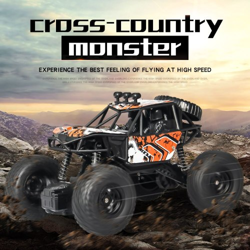 New RC Car 2.4G Climbing Vehicle X Power S-003 Waterproof Off-road Remote Control Vehicle Toy Children Surprise Gift