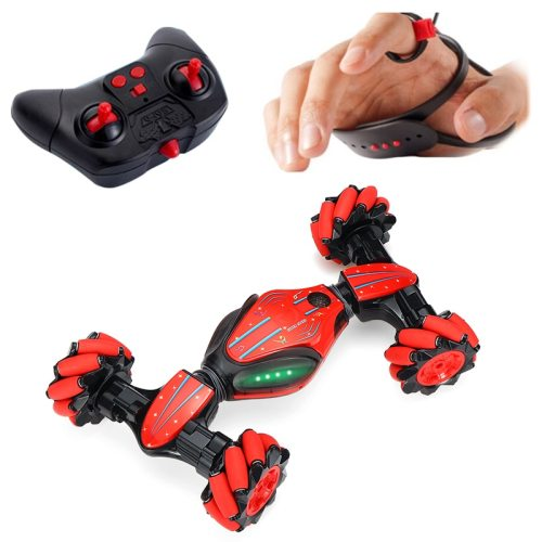 Stunt Gesture Remote Control RC Car twisting Off-Road Vehicle Drift Light Music Drift Radio Controlled Driving Car Toys