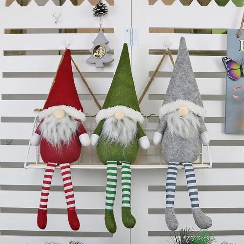 Christmas Rudolph Doll Pendant Merry Christmas Decor for Home 2020 Christmas Ornaments Xmas Gift New year 2021 Navidad Noel