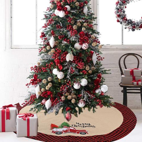 Christmas Tree Skirt Christmas Tree Decor Rugs for Modern Living Room 2020 Merry Christmas Decor for Home Happy New Year 2021