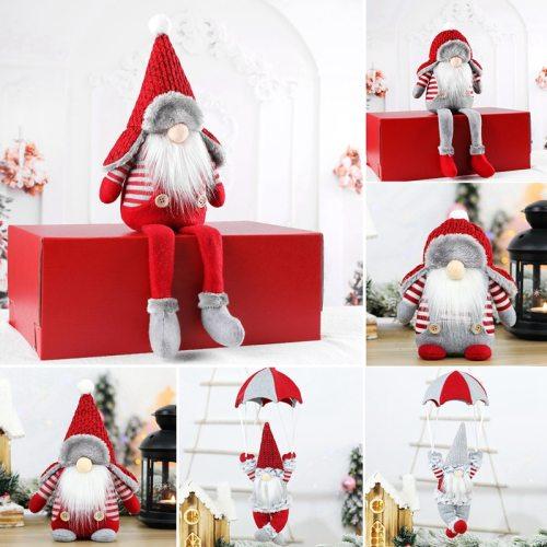 Christmas Rudolph Doll Pendant Merry Christmas Decor for Home 2020 Navidad Cristmas Ornaments Xmas Gifts New Year 's Decor