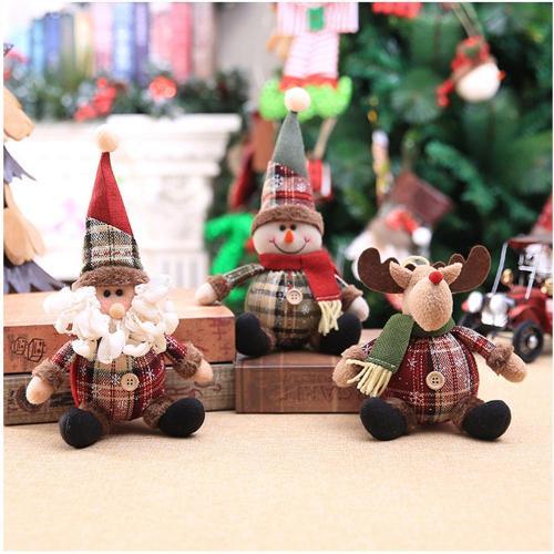 Christmas Doll Pendant Merry Christmas Decor for Home 2020 Navidad Ornaments Christmas Tree Decor Xmas Gift Happy New Year 2021