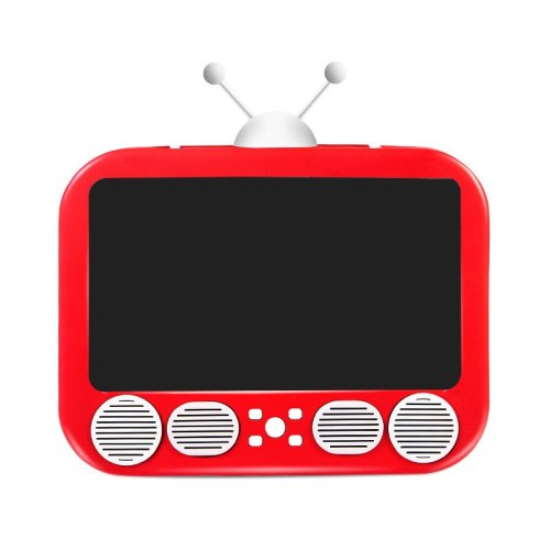 U30 Mobile Phone Sn nifier 3D HD Video Amplifier Smartphone Stand Retro Creative Tv Shape