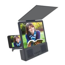 New Cell Phone Screen Magnifier HD Mobile Video Magnifier Bluetooth Speaker Portable Foldable Phone Projector 3D Video Amplifier