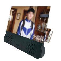 10 Inch Amplifying Screen With Bluetooth Speaker Amplifier Desktop Bracket Mobile Phone Video Screen Magnifier Amplifier Holder