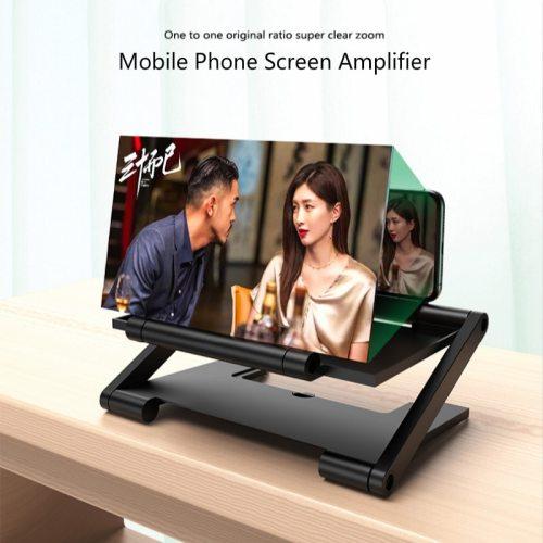 8 Inch Folding 3D Screen Mobile Phone Amplifier Magnifier Cellphone Holder Mobile Phone Screen Amplifier 2020