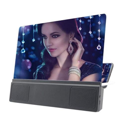 12 inch HD Mobile Phone Screen Folding Magnifier HD Video Amplifier vn5f