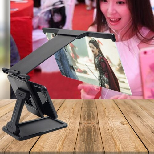 L20 Mobile Phone Amplifier Smartphone Projector Screen Stand 3D Magnifier Loudspeaker Bracket Holder