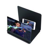 Movie 12 Inch Mobile Phone 3d Screen Video Magnifier Folding Curved Enlarged Smartphone Movie Amplifying Projector Stand Bracket