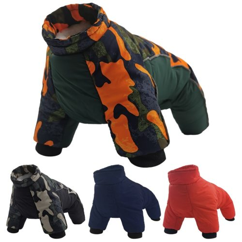 Clothes For Dogs Winter Thicken Warm Puppy Pet Dog Clothes Waterproof Dog Coat Jacket Chihuahua French Bulldog Jumpsuit Clothing
