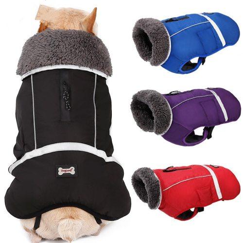 New Design Water Resistant Dog Jacket Winter Pet Dog Clothes Apparel