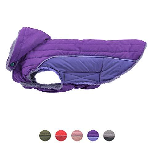 PET Dog Coat with Warm Detachable Hat Dog Thick Jacket Hoodie Reflective Sweater Clothing Outfits