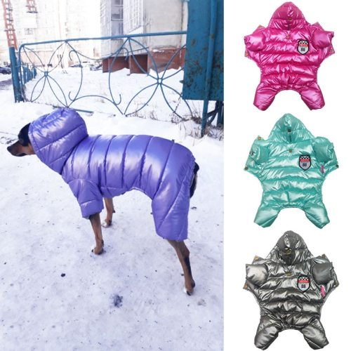 Pet Winter Dog Clothes Jumpsuit Warm Dog Coat Pet Puppy Clothes Chihuahua Shih Tzu Dog Jumpsuit Winter Clothes For Small Dogs
