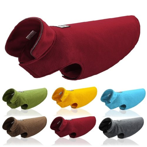 Reflective Pet Clothes Dog Jacket Coat Winter Dogs Pet Jacket Retro Cozy Warm Pet Outfit Clothes Large Dog Vest XS-2XL