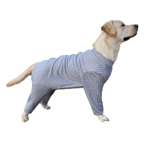 Large dog pajamas, pet dog clothes jumpsuits, dog clothing, coats, dogs, anti-hair loss, dog gear