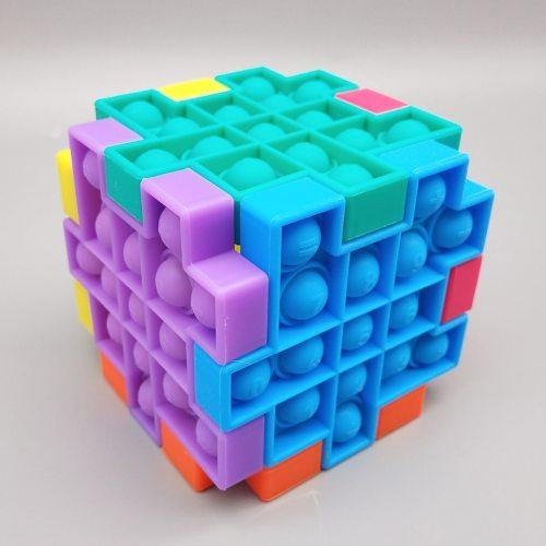 Push Bubble Fidget Toys Reliver Stress Push Bubble Antistress Toys Adult Children Sensory Toy To Relieve Autism Dropship
