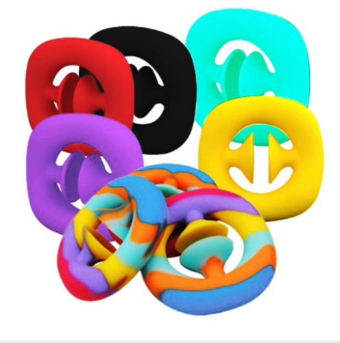 Anti Stress Finger Hand Grip Stress Reliever Fidget Toy Adult Child Simple Dimple Stress Toys Decompression Pop It (Wholesale Support)