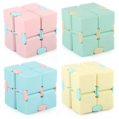 Fidget toys Children's Fingertips Decompress Portable Lightweight Magic Square Antistress toys infinity cube Puzzle sensory toys (Wholesale Support)