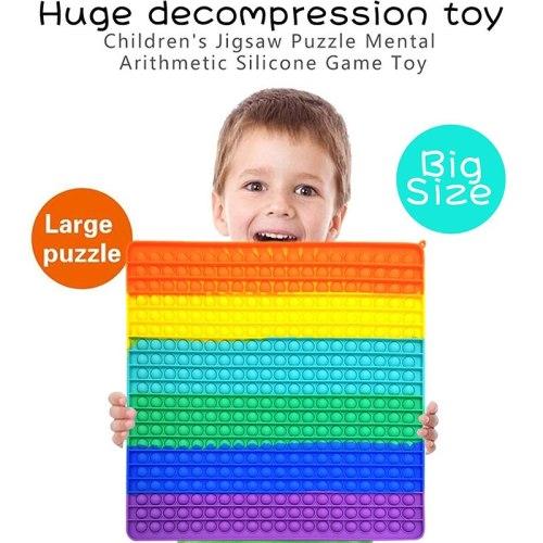 40cm Big Pop It Antistress Toys Lager Push Big Size Bubble Fidget Sensory Toy Autism Stress Reliever Toy