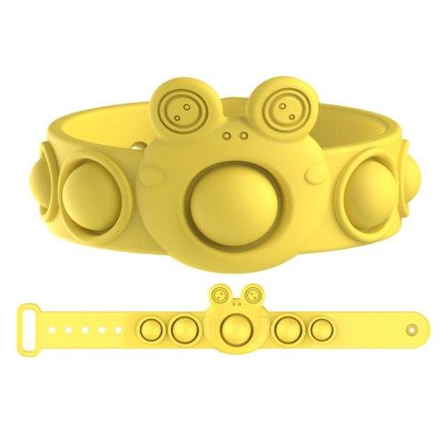 Push Bubble Sensory Fidget Toys Stress Relief Bubble Bracelet Toy Wearable Sensory Wristband Toys