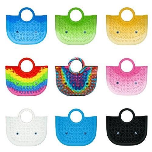 2021 New Female Bag Fidget Toys Rodent-killing Pioneer Decompression Large Handbag Fidget Toys