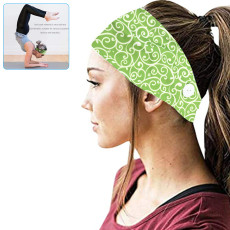 Headband With Button, Facemask Holder Headbands Protect Ears, Sports Hair Accessories