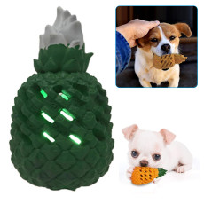 Durable Pineapple Shape Dog Chew Toys, Aggressive Chewer Rubber, Dental Cleaning Molar Tool