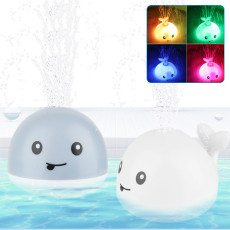 Baby Bath Toys, Whale Spray Water Light Bathtub Toys for Kids,  Pool Bathroom Party LED Light Toys