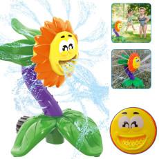 Outdoor Water Spray Toy Sprinkler, Splash Toy Backyard, Sunflower Sprinkler Toy For Kids Water Fun
