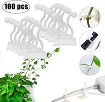 100 pcs Plant Climbing Wall Fixture, Plant Climbing Wall Vine Fixer, Vines Fixing Clip Sticky Hook