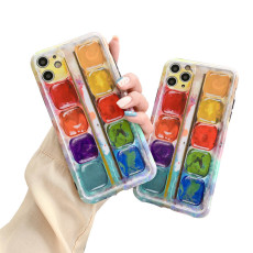 iphone 11 Phone case, Art Watercolor Palette Phone case for Iphone 11/11 pro/ 11 pro max, TPU Case