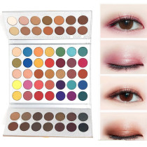 Eyeshadow Palette, Long Lasting Eye Makeup Set, 63 Colors Waterproof Matte And Shimmers Glitters