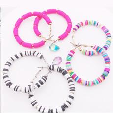 Big Round Circle Hoop Earrings, Hoop Earrings For Women, Bohemia hoop earrings (Random Color)