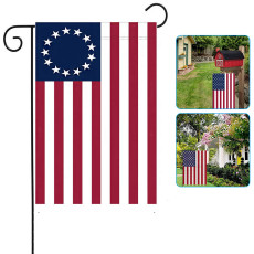 American Garden Flags 11.8 X 17.7 Inch- Double Side Yard Flag Banner, Patriotic Outdoor Lawn Decoration