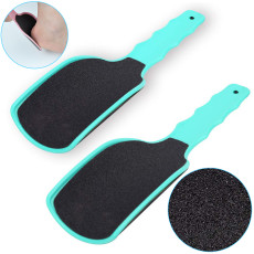 U Shaped Curved Foot File, Dead Skin Remove Callauses Remover, Double Sides Sandpaper Foot File