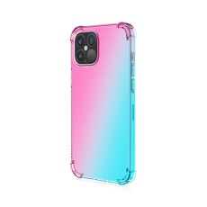 Gradient TPU Case for iPhone 11 6.1 , Anti-Shock iphone 11 Case, Reinforced Corners for iphone 12 5.4''/6.1''/6.7''