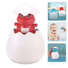 Dinosaur Egg Water Spray Bath Toys, Cute Floating Sprinkler Shower Toy, Bathtub Funny Toys for Kids
