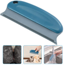 Pet Hair Cleaning Remover Brush, Pet Hair Detailer with Handle, Dog Hair Lint Remover for Cars Furniture